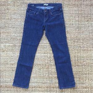 CAbi Jeans Dark Indigo Style # 175 Size 8